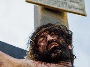 Jes crucifd
