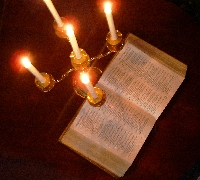 bible-and-candles