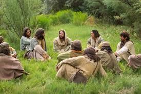 Jesus teach small group